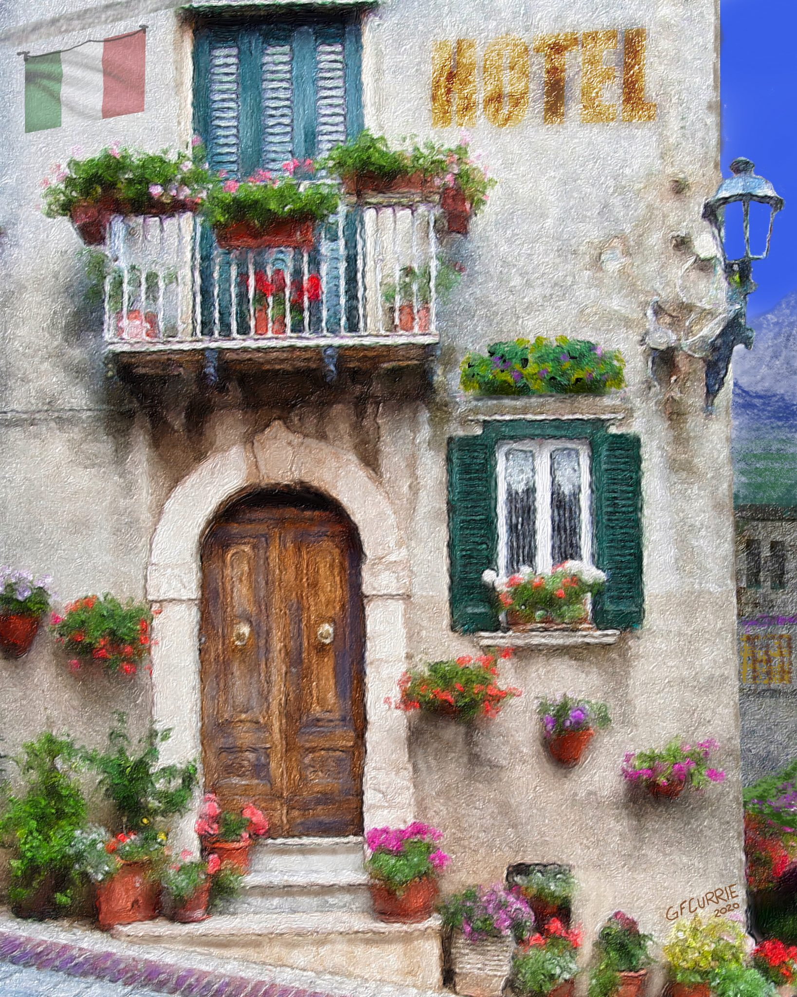 Italian Window Box